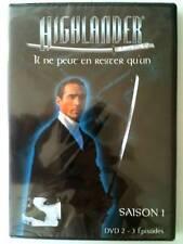 HIGHLANDER - SAISON 1 - DVD 2 - 3 épisodes  DVD NEUF