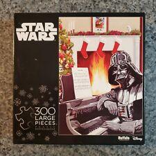 NEW Star Wars Buffalo Games 300 lg piece puzzle Christmas Darth Vader at piano