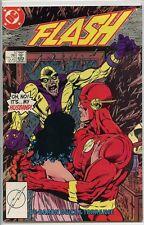 Flash 1987 series # 5 very fine comic book