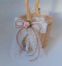 Streukörbchen Hochzeit Blumenkinder SK0018 Vintage