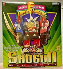 Mighty Morphin Power Rangers  (1995) Deluxe Shogun Megazord MMPR IN BOX BANDAI