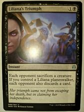 War of the Spark UnCommon Playset NM 4x Liliana's Triumph MTG