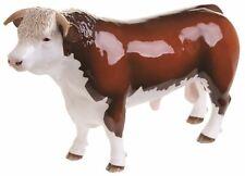 More details for new boxed john beswick hereford bull horned bull ornament figure jbf88