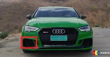 NEW GENUINE AUDI RS3 17-18 FRONT BUMPER LOWER RIGHT O/S AIR VENT GRILL BLACK