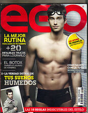 LIONEL Spanish EGO Magazine 3/09 MICKEY ROURKE
