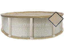 24' Round Ultimate Guard Winter Pool Cover - Extra Heavy Duty 20 Year Warranty!