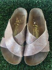Women's  Dahlia Papillio By Birkenstock Royal Python Sandals Sz 6 Or 37 Euro
