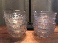 McKee Glass Rock Crystal Finger Bowls (8)