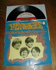 "MONKEES Orig 1968 ""D.W. Washburn"" 45 w PS VG++"