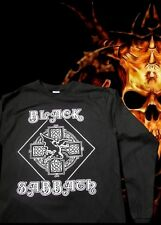 NEW!! BLACK SABBATH 1 PUNK ROCK LONG SLEEVE MEN's SIZES