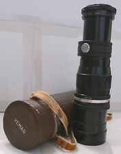 Film Camera Lens Vemar Telephoto 1:5.5 F = 300mm Lens Made in Japan TESTED