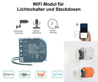 WiFi Modul für Lichtschalter Steckdose Smart Home Sprachsteuerung Alexa Single
