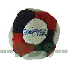 SandMaster Dirt Bag Hacky Sack Foot Bag Red White Black Sand Master SM24