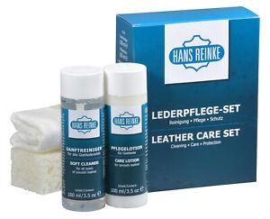 Auto Lederpflege Set (Reinigung, Pflege und Schutz) 5-teilige Innenraumpflege