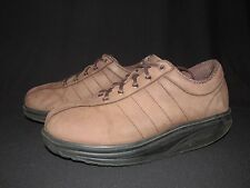 MBT Casual Brown M Suede Lace Up Walking Toning Shoes Men's US 11.5M