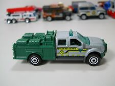 Matchbox BLM Research Land Survey Team Ford F-550 Super Duty Truck 1:64 JC23