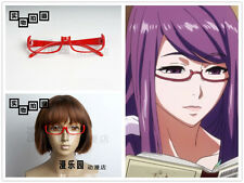 Hot Japan Anime Tokyo Ghoul Rize Kamishiro Cosplay Red Glasses No Len Version