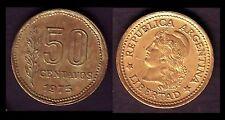 ★★ ARGENTINE / ARGENTINA ● 50 CENTAVOS 1975 ★★