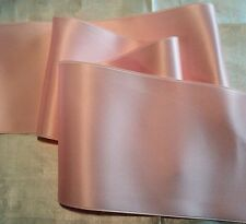 """2"""" WIDE SWISS DOUBLE FACE SATIN RIBBON - LIGHT PINK  -   BTY"""