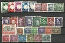 POLAND, GERMAN OCCUPATION 1939/1944 - Collection of 6 dif. sets