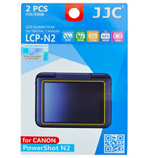 JJC LCP-N2 hard polycarbonate LCD Screen Protector For Canon N2 2 Pack