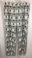 Wondershop Women's Large Fair Isle Microfleece Pajama Pants Gray