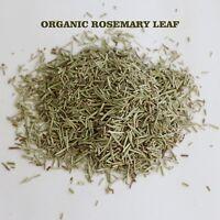 Organic Dried Rosemary Leaf  Whole Bulk free Shipping Romero