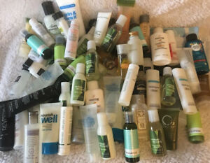 Lot Of 74 Hotel Travel Sized Toiletries Mixed Brands Lotion Shampoo Conditioner