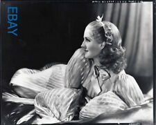 Norma Shearer playful profile Photo From Original Negative