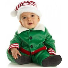 Baby Elf Costume Toddler Kids Christmas Outfit Fancy Dress