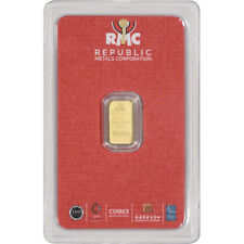 1 gram RMC Gold Bar - Republic Metals Corp - 999.9 Fine in Sealed Assay