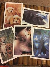 Vintage Animal League Post Cards Doris Day Set of 5