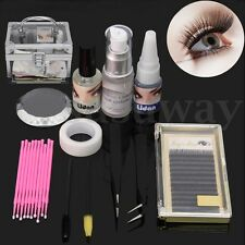 11pcs Pro Individual Classic Permanent Extension Eyelash Glue Mink Lash Kit Set