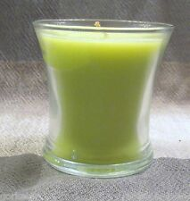 PARTYLITE FRESH GREEN APPLE TRUMPET JAR (G045208)~NEW-NO BOX~PERFECT FOR FALL