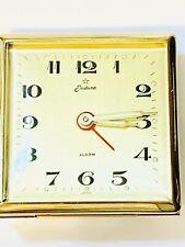 Vintage Endura Mechanical Windup Alarm Clock New Old Stock FromThe 60s(19077M)