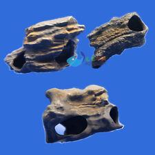 3 pcs  MF CICHLID STONE Ceramic Aquarium Rock Cave decor for Fish Tank  AK675
