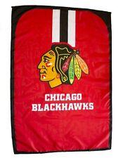 """NHL Licensed Chicago Blackhawks Hockey 31.5""""x 47"""" Team Fan Flag Cape Banner"""