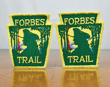 Vintage Pair of 1970s Forbes Trail Boy Scout BSA Patches