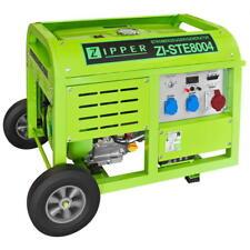 ZIPPER Stromerzeuger ZI-STE8004 Stromaggregat Stromgenerator Benzin 8000W