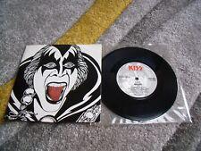 "KISS/Gene Simmons Killer/I love It Loud Rare 7""Tongue Sleeve"
