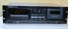 TASCAM CD-A500 Tapedeck/CD-Player Kombi+ FB+ BDA, SN:291453