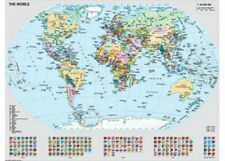 Ravensburger Political World Map 1000 piece Jigsaw Puzzle RB15652-8