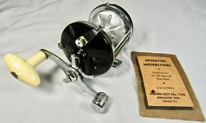 Ocean City 250 Inductor Surf Reel First Magnetic Cast Control EX w/ Paper!