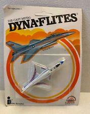 1982 Zee Toys Die Cast Metal Dyna-Flites Grumann X-29 New in Package
