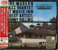 THE MODERN JAZZ QUARTET - AT MUSIC INN GUEST ARTIST:SONNY ROLLINS  CD NEW+