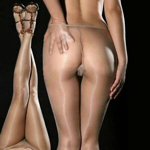 Women Ultra Shiny Glossy Sheer Stockings Cosplay-Dance Tights Pantyhose Hosiery~
