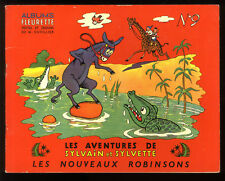 SYLVAIN ET SYLVETTE  n°9  LES NOUVEAUX  ROBINSONS  CUVILLIER 1958