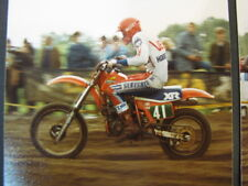 Photo Honda XR 1983 #41 Schram (NED) Klasse 4t Nat during GP Zijspan Lochem