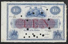 Scotland 1905 10 Pounds Union Bank of Scotland pS807