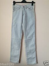 Versace VJC Women`s Ladies Blue Straight Jeans Size EU-27,IT-41
